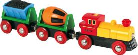 BRIO 33319002 Zug mit Batterielok, Holz und Kunststoff, ab 36 Monate - 8 Jahre