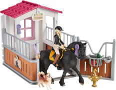 Schleich Horse Club Pferdebox mit Horse Club Tori & Princess