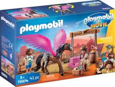 Playmobil 70074 Playmobil: THE MOVIE Marla, Del und Pferd mit Flügeln