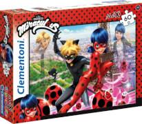 Clementoni Puzzle Miracolous Maxi 60 Teile