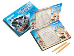 Schmidt Spiele Playmobil Piratenschiffe versenken Bring-Mich-Mit-Spiele in der Metalldose