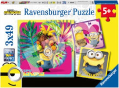 Ravensburger 05082 Puzzle AT Minions 2 3x49 Teile