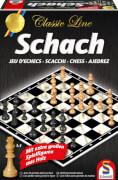 Schmidt Spiele 49082 Classic Line Schach, 2 Spieler, ab 9 Jahre