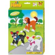 HAMA kleine Geschenkpackung Hund & Katze 2.000 Stück