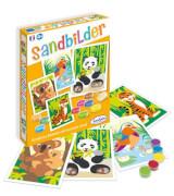 Sandbilder bedrohte Tiere (d)