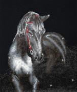 Diamond Dotz Mitternachtshengst 42 x 53 cm