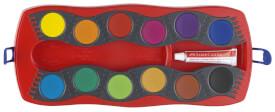 Faber-Castell Farbkasten Connector mit 12 Farben