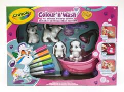 Crayola Washimals Color N Wash Spiel