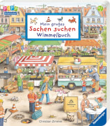 Ravensburger 43345 Mein großes Sachen suchen - Wimmelbuch