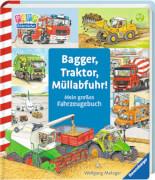 Ravensburger 43407 Bilderbuch: Bagger, Traktor, Müllabfuhr!