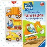 Ravensburger 31678 Ministeps Fahrzeuge Puzzle -Spielbuch 18 + Monate