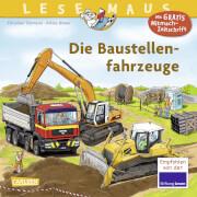 Lesemaus - Band 157: Die Baustellenfahrzeuge, Taschenbuch, 24 Seiten, ab 36 Monate - 5 Jahre