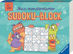 Ravensburger Mein monsterstarker Sudoku-Block -F18
