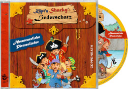 CD: Käpt'n Sharkys Liederschatz - Abenteuerl. Piratenlieder