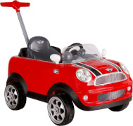 Rollplay MINI Cooper push car, pedal, red
