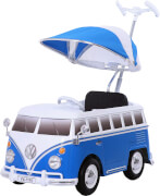 Rollplay VW Bus push car, blue