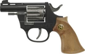 8er schwarze Pistole ca. 14,5 cm, Tester