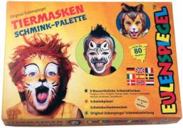 Eulenspiegel 208038 Tiermasken Schmink-Palette
