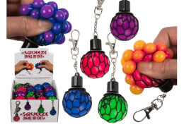 Schlüsselanhänger Squeeze Ball im Netz