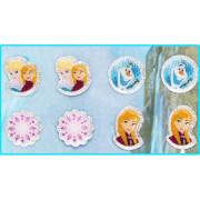 Disney Frozen - Die Eiskönigin 24 Sticker-Ohrringe