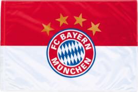 FC Bayern Fahne Logo 150x100 cm