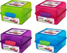 Sistema Lunch Cube 1,4 l, blau, grün, pink, lila